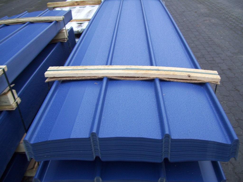 Trapezblech Trapezbleche Profilblech Dachplatten Stahlblech Blech Platten 2.wahl Produkte Werden Ohne EinschräNkungen Verkauft Fürs Dach